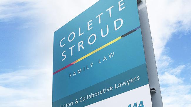 colette stroud signage